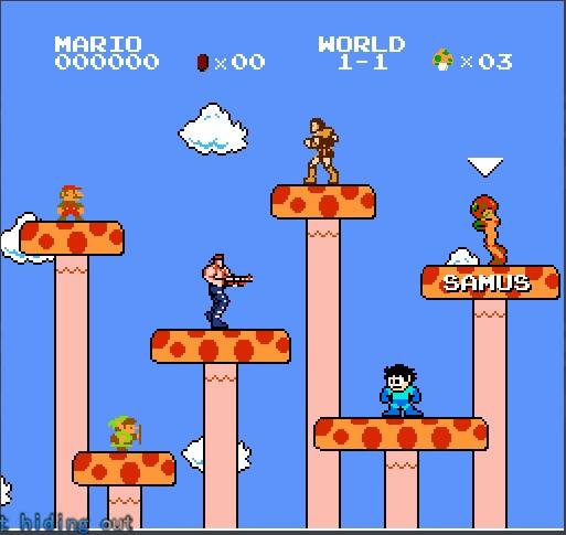 Chrome游戏:超级玛丽(Super Mario Bros. Crossover)、愤怒的小鸟(Angry Birds)