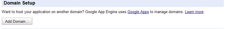 Google App Engine(GAE)绑定自己域名的方法